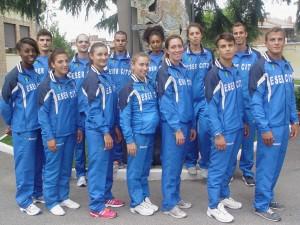 Gli ultimi atleti arruolati  nell'Esrcito, in  rappresentanza 7 discipline sportive, tra cui i tre judoka Basile, Regis, Roma di