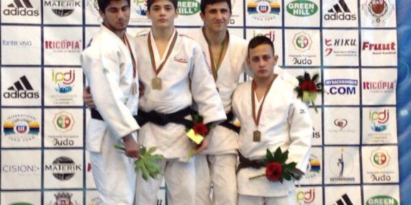 Coimbra: un oro e quattro bronzi!