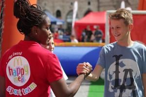 Festa in piazza Happy Meal Sport Camp 3