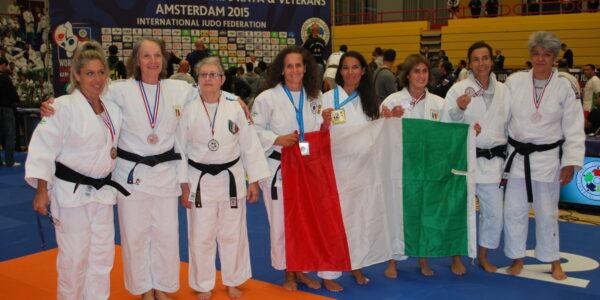 Mondiali Veterani e Kata: successo per il judo azzurro!