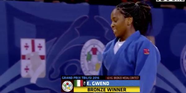 Edwige Gwend bronzo a Tbilisi. Italia seconda nazione in Georgia