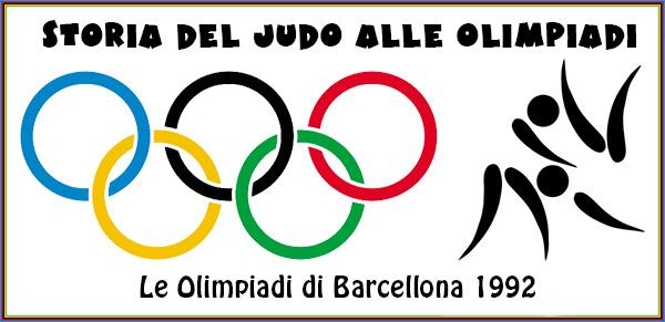 Le Olimpiadi di Barcellona 1992 (parte 1)