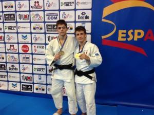 Malaga Lombardo e Carlino bronzo doppio