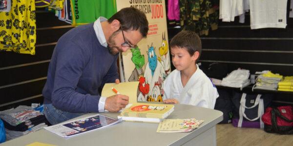 Alessandro Bruyere al Salone Internazionale Del Libro con IGEI