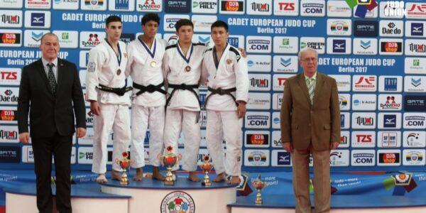 Italia U18 quarta a Berlino: oro di Bedel, argento di Silveri e bronzo di Avanzato e Bergamelli