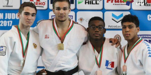 A Coimbra Alessandro Magnani d'oro tra gli U18. Bedel e Origgi di bronzo.