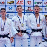 5 argenti e 4 bronzi per l'Italia all'European Judo Open di Bucarest