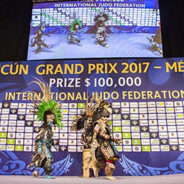 Grand Prix Cancun 2017: Odette Giuffrida Bronzo