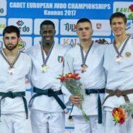Bergamelli re d'Europa U18. Bedel e Fusco d'argento. Prosdocimo ed Esposito di bronzo
