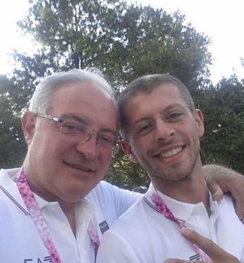 Sandro Piccirillo e Alessandro Comi