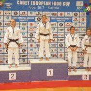 14 medaglie per l'Italia alla Cadet European Judo Cup Koper 2017