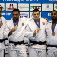 A Malaga Vincenzo D'Arco oro nei +100 kg. Italia IV con 7 medaglie davanti alla Spagna