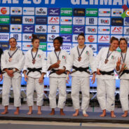 Le ragazze del GS Fiamme Gialle Roma bronzo nell'Europa League 2017