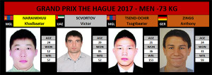 GP The Hague 2017 -73Kg