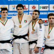 A Coimbra secondo oro con Andrea Fusco. Fortunio seconda ed Esposito terza