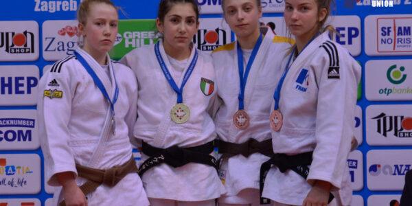 Zagabria: Giorgi e Avanzato d'oro, Silveri e Lisciani di bronzo