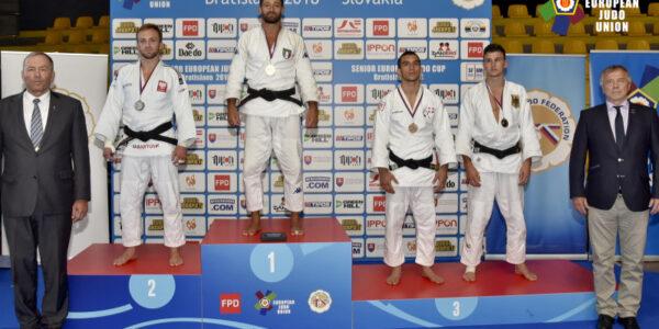 Augusto Meloni d'oro e Martina Greci bronzo all'European Cup di Bratislava
