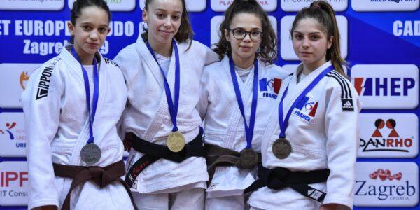 EJ Cup Cadet Zagabria 2019: Italia seconda nel medagliere finale