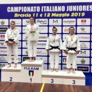 A. Avanzato, Scutto, V. Toniolo, Pellitteri, Favorini, Esposito, Vuk, Calagreti le nuove campionesse italiane juniores 2019