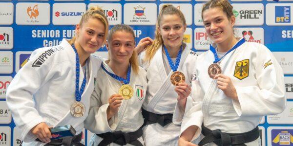 Senior EJC Celje-Podcetrtek: Fiorini e Petitto uniche medaglie azzurre