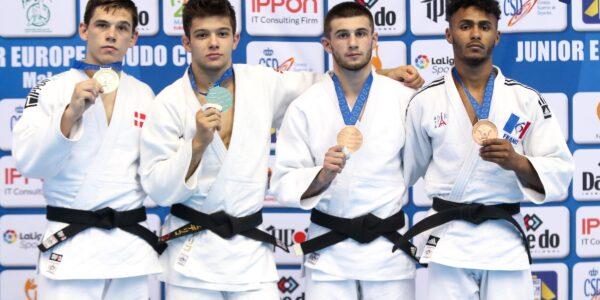 Junior EJC Malaga 2019: Cuniberti d'oro, Carlino d'argento