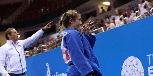 Minsk 2019, Maria Centracchio è medaglia di bronzo
