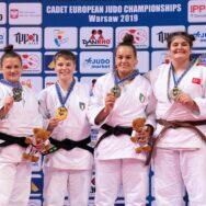 Europei Cadetti 2019: E.Simonetti d'oro, D. Accogli e A. Tavano bronzo