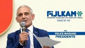 Felice Mariani Candidato FIJLKAM