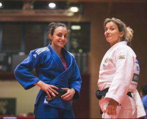 Martina Lo Giudice e Telma Monteiro